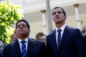 El reencuentro entre los líderes de la Asamblea Nacional: Guaidó, Zambrano y Gonzalez