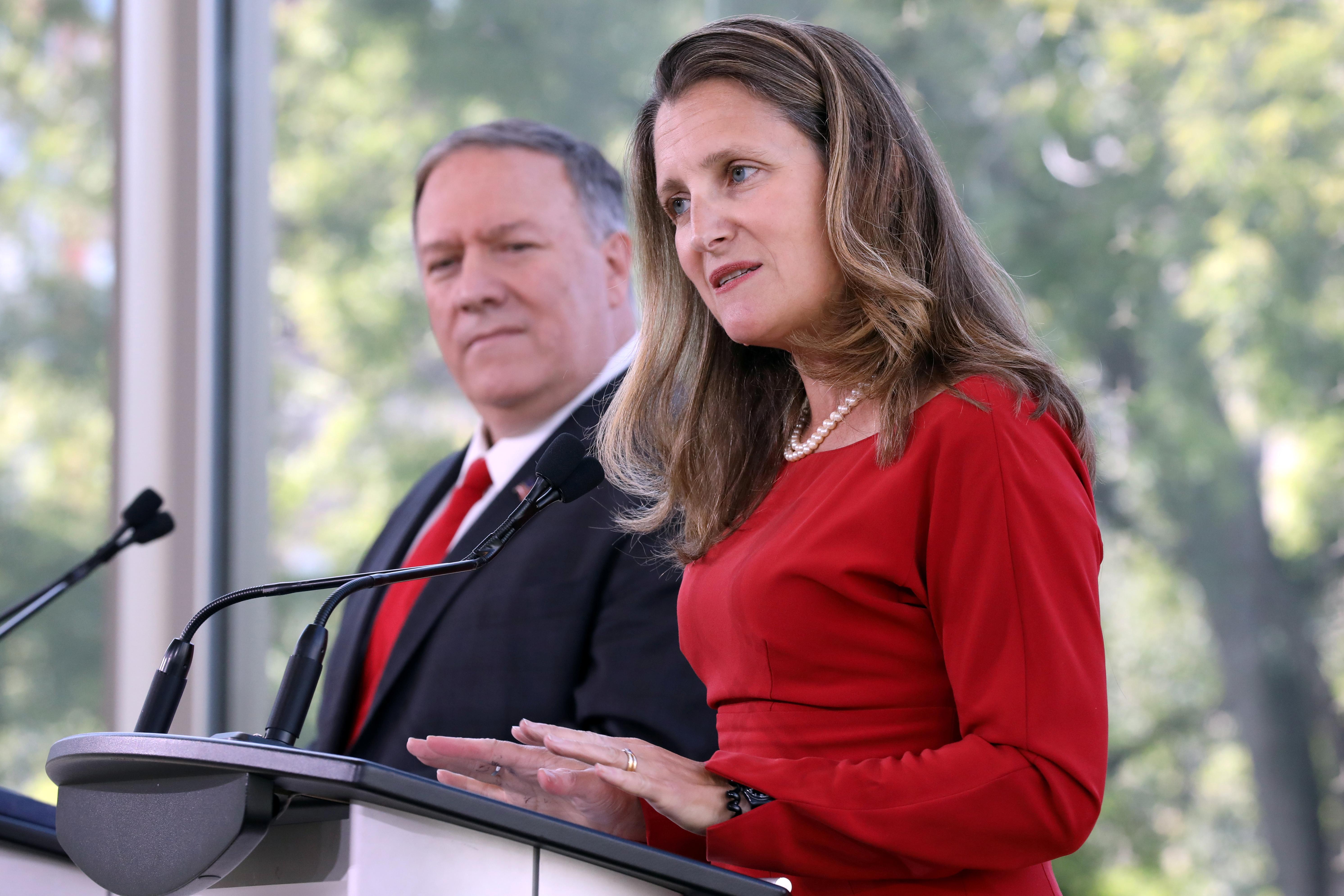Estados Unidos y Canadá acuerdan incrementar presión contra el régimen de Maduro