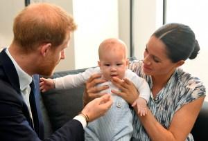 """Meghan confesó que a la familia real le """"preocupaba"""" cuán oscura sería la piel de Archie"""