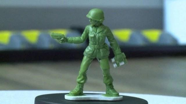 Juguetes militares, imagen de cortesía.