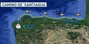 El Camino de Santiago … bajo el mar