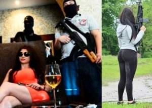 """LA FOTO: Revelan el cadáver de """"La Kim Kardashian del Cartel de Sinaloa"""" en la cama de su amante"""