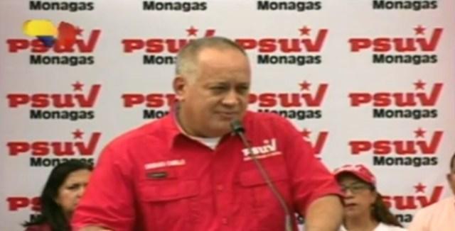Diosdado Cabello, imagen captura