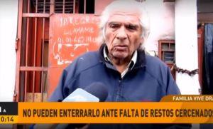 Familia del peruano descuartizado vive un calvario por no poder enterrarlo (Video)