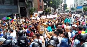 """""""¡Paro Nacional!""""… El grito de los docentes cansados de la crisis chavista (VIDEO)"""