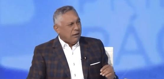Pedro Carreño durante una entrevista en Globovisión, Imagen captura.