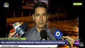 Abogado de Provea exige la liberación del trabajador detenido arbitrariamente en El Helicoide (Video)