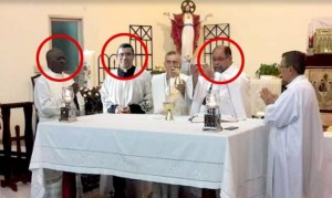 Difunden video sexual de sacerdotes panameños con un venezolano