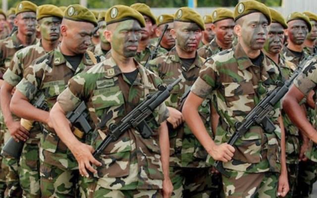 Soldados de Nicaragua, imagen referencial.