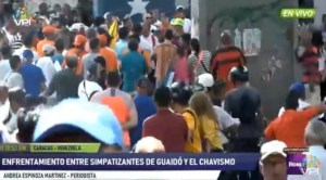 CNP condenó agresiones a los equipos de prensa de VPItv y EVTV Miami #21Sep