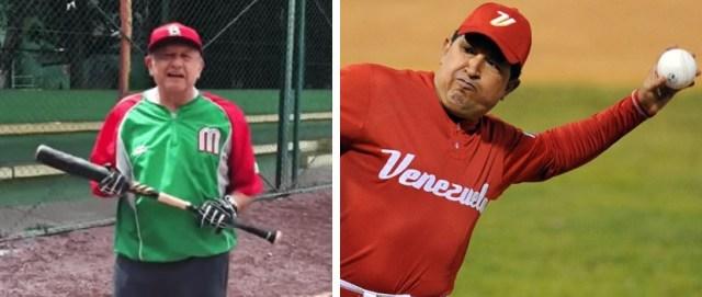 El presidente López Obrador comparte la pasión del beísbol con Hugo Chávez.