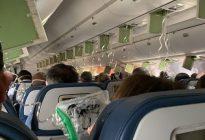 Un avión desciende repentinamente 9.000 metros en EEUU causando pánico entre los pasajeros (Fotos y video)