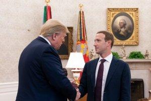 Donald Trump se reunió con Mark Zuckerberg en la Casa Blanca