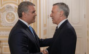 Duque y el embajador de EEUU en Colombia conversaron sobre convocatoria del Tiar (Video)