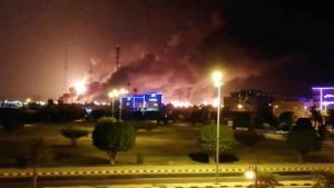 EEUU denunció que Irán atacó las refinerías sauditas para dañar la economía mundial