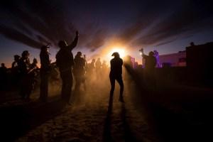 Cientos de personas se presentaron al Área 51 en busca de extraterrestres