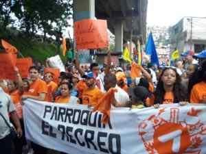 A pesar de la violencia… Así se desarrolló la concentración en apoyo a Guaidó en Caracas (Videos+Fotos) #21Sep