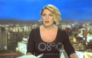 Así reportó esta periodista el fuerte sismo en Albania (video) #21Sep