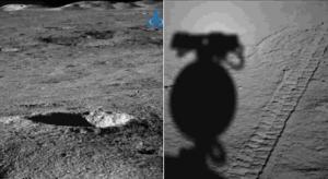 Descubren una extraña sustancia gelatinosa en la cara oculta de la Luna