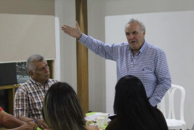 presidente del Partido Centro Democrático (PCD), Carlos Alaimo