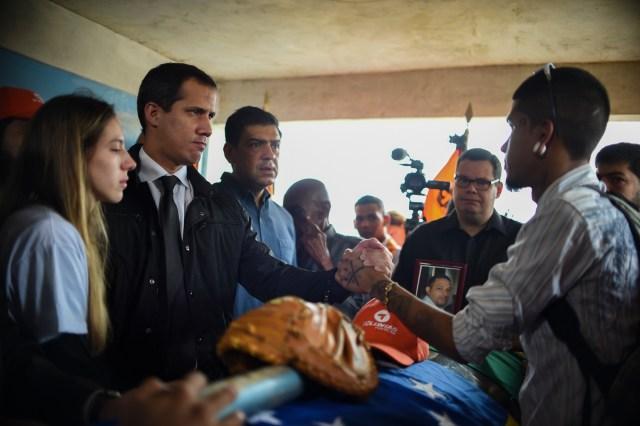 Así fue el último adiós a Edmundo Rada en Petare, asesinado por el régimen chavista 2
