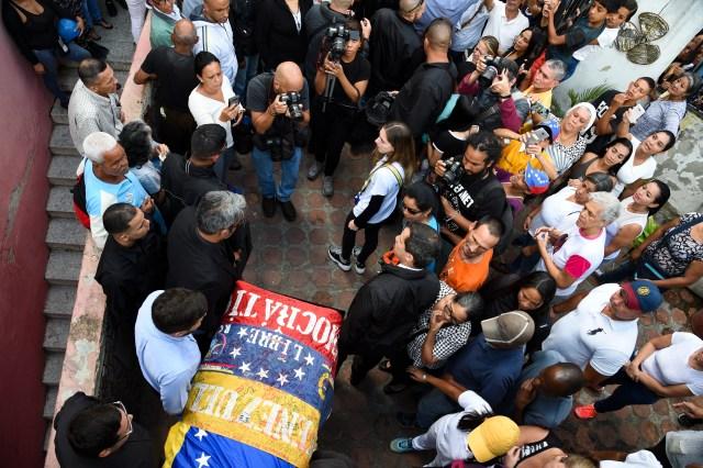 Así fue el último adiós a Edmundo Rada en Petare, asesinado por el régimen chavista 3