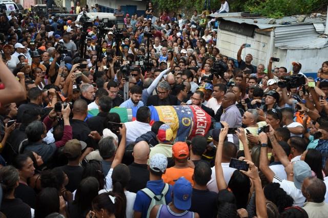 Así fue el último adiós a Edmundo Rada en Petare, asesinado por el régimen chavista 7