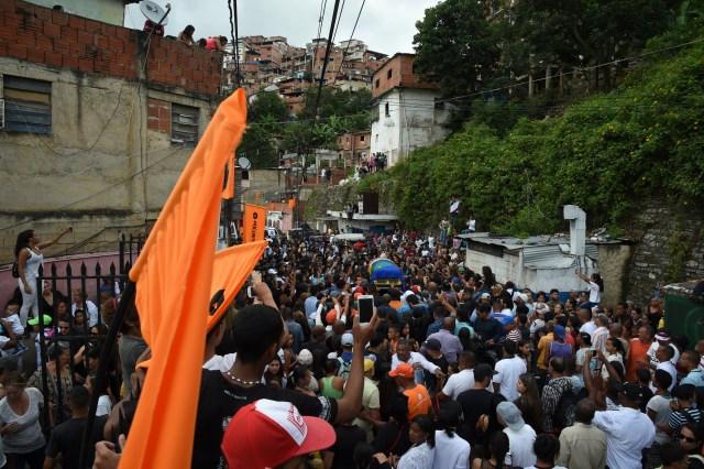 Así fue el último adiós a Edmundo Rada en Petare, asesinado por el régimen chavista 5