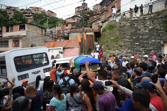 Así fue el último adiós a Edmundo Rada en Petare, asesinado por el régimen chavista 6