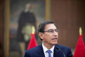 Excluyeron al expresidente Vizcarra de los candidatos al próximo Congreso de Perú