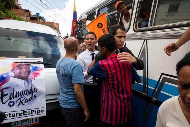 Así fue el último adiós a Edmundo Rada en Petare, asesinado por el régimen chavista 12