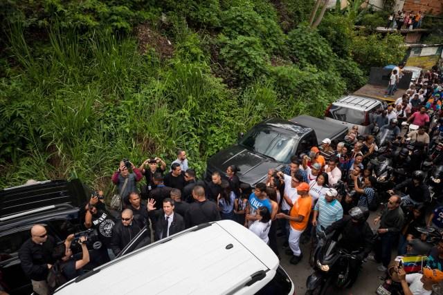 Así fue el último adiós a Edmundo Rada en Petare, asesinado por el régimen chavista 9