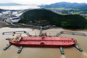 Las importaciones de petróleo de China están cayendo
