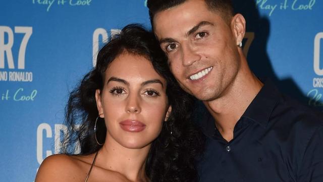Cristiano Ronaldo y Georgina Rodriguez (Tullio M. Puglia / Getty)