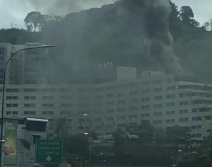 Reportan incendio en el Hotel Tamanaco #8Oct (FOTOS)