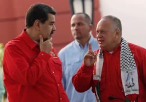 Maduro anunció visita oficial de Diosdado Cabello a China