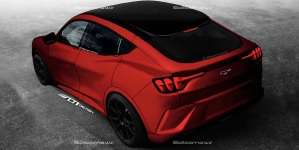 EWWW… todo indica que Ford presentará un Mustang camioneta eléctrico (Imágenes)