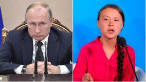 Las duras críticas de Vladimir Putin contra la joven activista Greta Thunberg