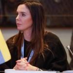 La Embajadora de Venezuela en Argentina, Elisa Trotta Gamus, imagen cortesía.