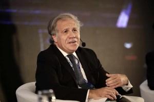 Almagro: Hay que aumentar la sanciones contra la corrupción y el narcotráfico por una Venezuela libre