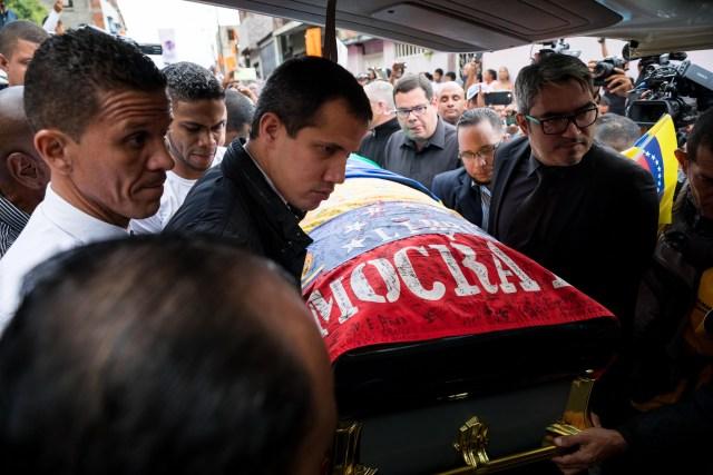 Así fue el último adiós a Edmundo Rada en Petare, asesinado por el régimen chavista 13