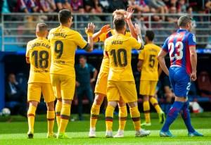 Barcelona nuevo líder gracias a su tridente y a la derrota del Real Madrid