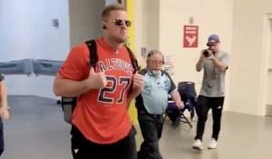 "La ""Altuve-manía"" llega a la NFL (VIDEO)"