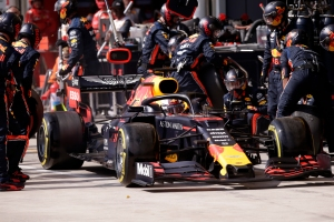 Red Bull rompió el récord mundial de parada de boxes en Fórmula Uno (VIDEO)