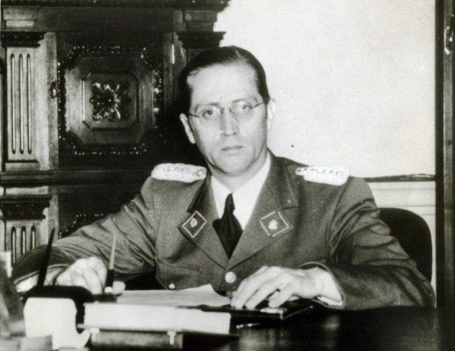 Carlos Román Delgado Chalbaud Gómez (Caracas, Venezuela, 20 de enero de 1909-Caracas, 13 de noviembre de 1950) Archivo.