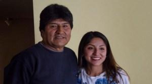 Los hijos de Evo Morales salieron de Bolivia hacia la Argentina