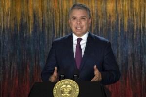 Duque llamó a reunión a los promotores de las protestas en Colombia (Video)