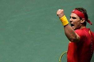 Nadal iguala la eliminatoria de Copa Davis para España