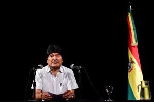 Evo convocó un acto en la frontera entre Argentina y Bolivia para elegir a su candidato