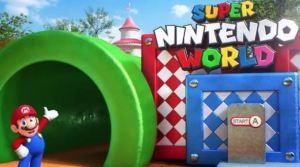 Se filtran nuevas imágenes del parque temático de Nintendo
